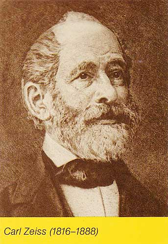 <b>CARL ZEISS</b>, born at Weimar in 1816 to a well to do family, <b>...</b> - Zeiss