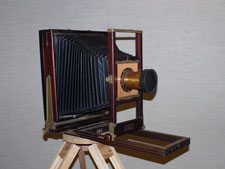 Kodak 2D 11 x 14 camera with wide-angle lens
