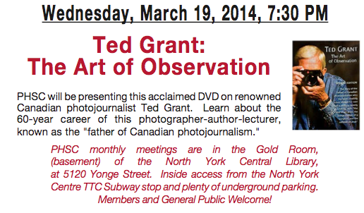 Ted Grant DVD - The Art of Observation