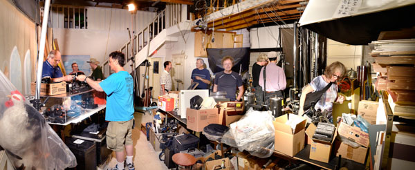 Pre-auction panorama by Bob Lansdale
