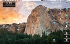 iMac Desktop Yosemite