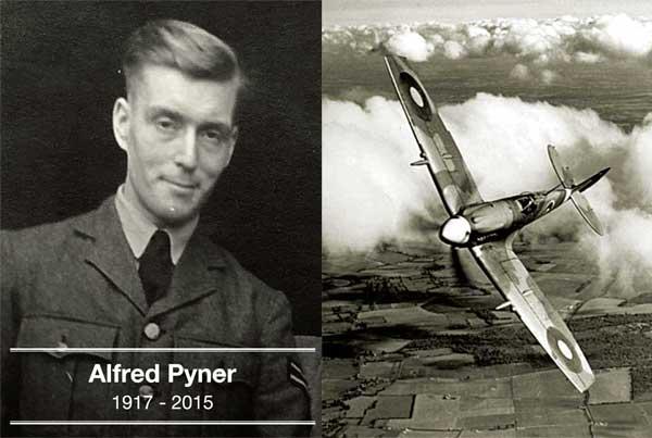 Alfred-Pyner-Spitfire