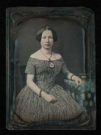 LAC Daguerreotype of Kate McDougall c1848