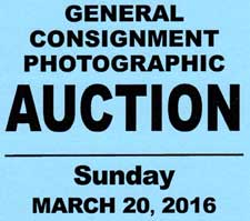 March 20, 2016 Auction. Click for details