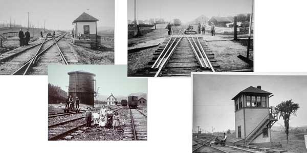 Train station; ; ;