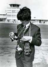 George Harrison chooses a camera