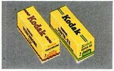 Kodak Verichrome and Super-XX film.