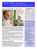 The first PHSC Newsletter in early November 2001