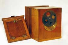 French 1/6th plate N.P. Lerebours Daguerreotype Camera and plate holder