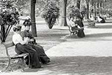 Lincoln Park, Chicago in 1900.