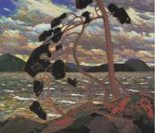 West Wind by Tom Thomson c 1917