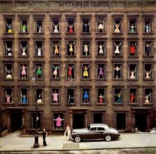Girls in the Windows 1960 by Ormond Gigli