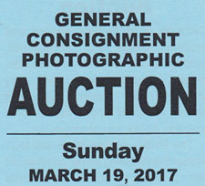 PHSC Auction next March, 2017