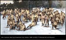 Red Cap Snowshoe Club - Halifax 1888 - Wm Notman Composite