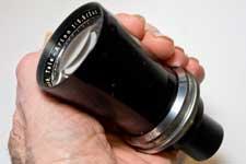 Schneider Tele-Arton f/5.5 240mm lens