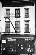 Eisemann studio in the Bowery - mid 1880s